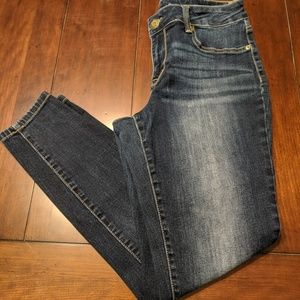 MAURICE'S JEAN JEGGINGS SIZE LARGE REG